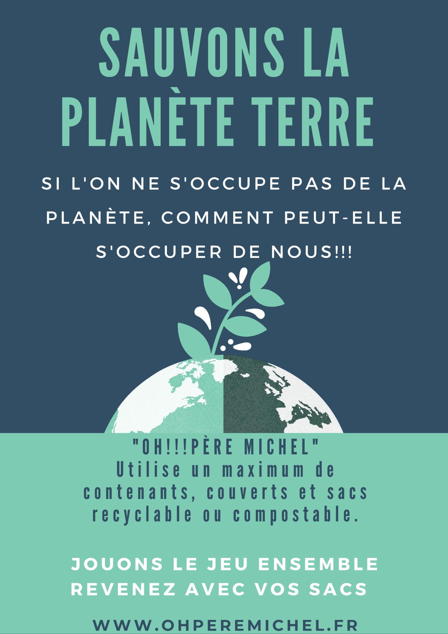 Vert et Bleu Illustré Planète Terre Journée Affiche (2)-page-001